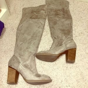 """Over the knee boots """"not rated"""" size 8"""